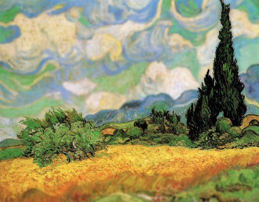 Vincent Van Gogh's Art as Seen Through a Tilt-Shift Lens